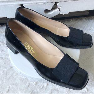 Salvatore Ferragamo Classic Patent Leather Heels